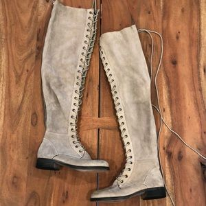 New Free People Tennessee Over the Knee Boots